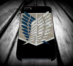 attack on titan recon corps logo iPhone 4/4s/5/5s/5c/6/6 Plus Case, Samsung Galaxy S3/S4/S5/Note 3/4 Case, iPod 4/5 Case, HtC One M7 M8 and Nexus Case **