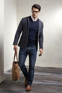 But do wear V-necks. | 21 Style Rules That'll Help Any Guy Look Taller