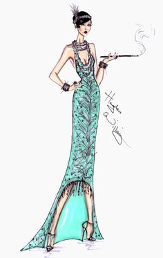 The Great Gatsby Collection part2 by Hayden Williams - Blog Post on Haute - A Toronto Fashion & Lifestyle Blog
