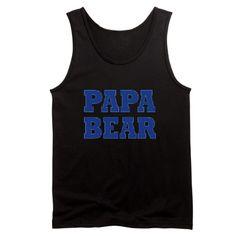 Papa Bear - Baby Bear: Men''s Tank Top.