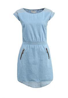 Платье House женское. Цвет: голубой. Сезон: Весна-лето 2014. С бесплатной доставкой и примеркой на Lamoda. http://j.mp/1pDOhAU