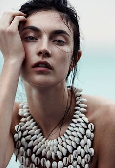 M: Jacquelyn Jablonski, P: Emma Tempest (Vogue Russia January 2014)