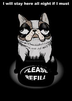 Refill Please by Bulleke on DeviantArt