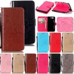 LiYB-Embossing-Leather-Wallet-Flip-Case-Cover-For-Sony-Xperia-Z3-Mini-M2-M4-AQUA