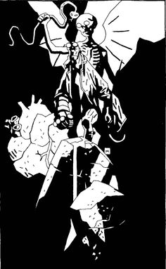 229 best mike mignola images on pinterest unpublished hellboy in hell tpb cover malvernweather Image collections