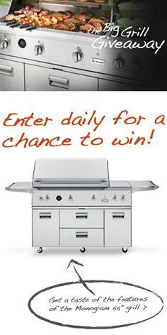 Win A 54″ GE Monogram Grill