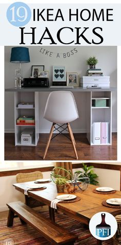 Here are 19 of my top favorite IKEA Hacks in the blogosphere! This collection will give you ideas of shelving, coffee tables to sofas dressers and more!