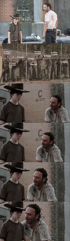 The 19 Greatest Dad Jokes From Rick Grimes - I laughed for 5 minutes at this one omg!!! Click through!