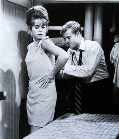 Jane Fonda, Barefoot in the Park, Robert Redford, 1967