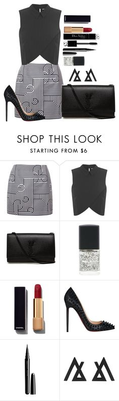 """""""Untitled #1321"""" by fabianarveloc on Polyvore featuring Victoria, Victoria Beckham, Miss Selfridge, Yves Saint Laurent, Lane Bryant, Chanel and Marc Jacobs"""