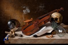 Las vanidades de Kevin Best  Musical Vanitas (after Pieter Claesz)