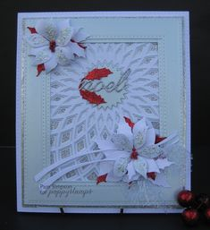 Hello and welcome to my second post for the blog blitz. Christmas card using