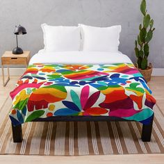 Bed Room, Beach House, Mexican, Decorating, Blanket, Colors, Prints, Furniture, Home Decor