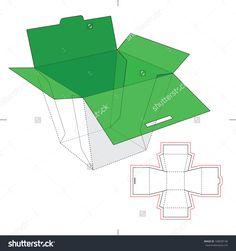 Food packaging nets template