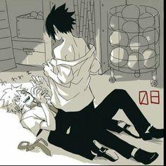 yaoi, naruto, and sasunaru image Sasuke X Naruto, Anime Naruto, Naruto Comic, Naruto Cute, Naruto Funny, Gaara, Naruto Shippuden, Boruto, Sasunaru