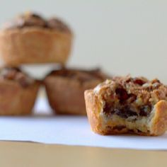 Pecan tassies - me & my sissy's fave bite sized dessert to make!  It disappears everywhere we bring them to.
