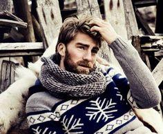 Calle Strand, favorite male model