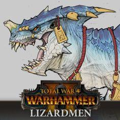 TW: Warhammer 2 - Lizardmen Concepts, Rich Carey on ArtStation at https://www.artstation.com/artwork/GWzGQ