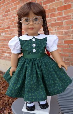 Reserved Listing 18 Doll Clothes 1940s Christmas by Designed4Dolls