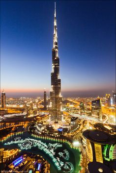 """""""Address Hotel"""" rooftop. From here opens up probably the best view on Burj Khalifa and the fountain show."""