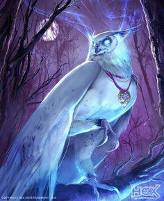 HEX: Silver Talon Adjudicator by Harpiya - Alles - Fantasy Art Mystical Animals, Mythical Creatures Art, Mythological Creatures, Magical Creatures, Creature Drawings, Animal Drawings, Wolf Drawings, Drawing Animals, Illustration Inspiration