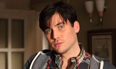 'Evil butler' Rob James-Collier, who plays footman Thomas Barrow in ITV's Downton Abbey, is running the London Marathon for the Chilterns MS Centre. Simon Curtis, Rob James Collier, Drama News, London Marathon, Uk Tv, Period Dramas, Downton Abbey, Butler, Gentleman