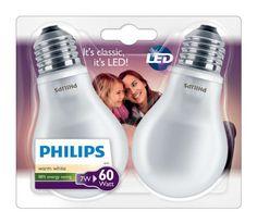 ¡Chollo! Pack de 2 bombillas LED clásicas de Philips casquillo E27 y luz blanca cálida por 8.99 euros.