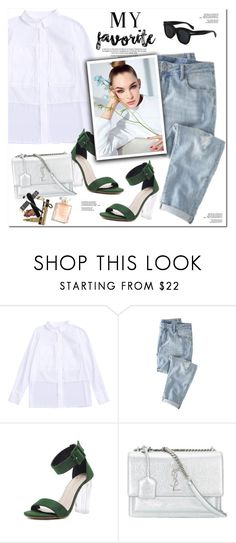 """""""My Favorite"""" by oshint ❤ liked on Polyvore featuring Wrap, Yves Saint Laurent, awesome and zaful"""