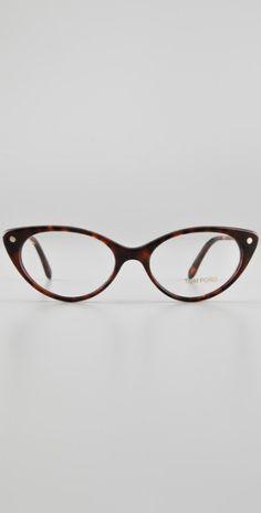557f39978c2 Tom Ford Cat Eye Glasses in Animal