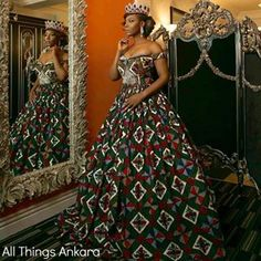 So regal.   17 Stunning People Who Slayed In African Print