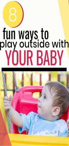 Outside Activities for Babies Outdoor baby play is a great idea for both moms and babies. Best Outdoor Toys, Outdoor Baby, Outside Activities, Outdoor Activities, Baby Play, Infant Play, Infant Room, 8 Month Old Baby, Best Baby Toys