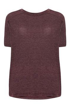 Burgundy Warmhandle T-Shirt