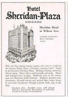 Uptown Chicago History: Hotel Sheridan Plaza