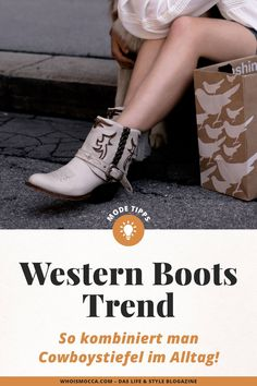 contains unsolicited advertising. Summer Fashion Trends, Fashion Tips, Fashion Design, Types Of Jeans, German Fashion, Western Boots, Cowboy Boots, High End Fashion, All About Fashion