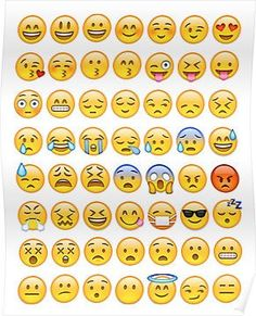 'All Faces Emoji Collage' iPhone Case by callmeJkay Framed Prints, Canvas Prints, Art Prints, Images Emoji, Emoji Stickers, Emoji Faces, Emoji Wallpaper, Cool Posters, Sticker Design