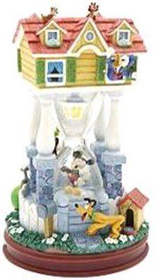 Disney Mickey's House Hourglass Snowglobe