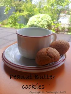 Craft with Ruth Cartwright: Peanut butter cookies recipe