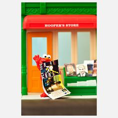 WE HAD the Sesame Street playhouse pictured here!!!    Tickled Elmo 8x10 now featured on Fab.
