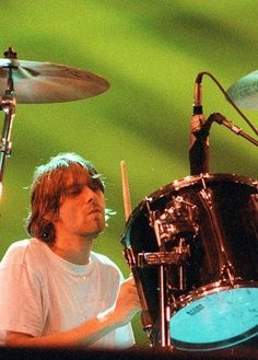 Kurt on drums