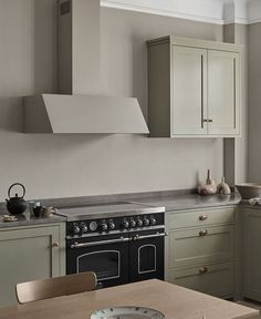 Kitchen Fan, Shaker Kitchen, Kitchen Cabinets, Bertazzoni Range, Emperador Marble, Building A Kitchen, Drawer Inserts, Range Cooker, City Living