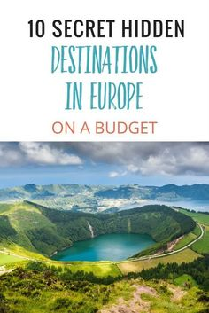 Ready to travel to Europe? These 10 secret hidden destinations in Europe on a budget will make you happy. We're talking accommodation less than €30 a night.  These are the countries and cities to visit that you may not have thought of, but do NOT want to miss! Including where to stay, road trip ideas, and things to do in the area as you plan your Europe bucket list vacation! Read our tips for ideas for planning your dream vacation on a budget! #Europe #Europevacation #wanderlust