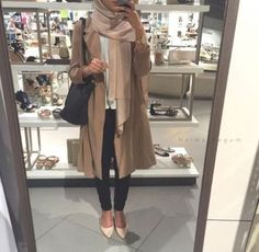 fall hijab layering look- Fall hijab outfits in warm colors http://www.justtrendygirls.com/fall-hijab-outfits-in-warm-colors/