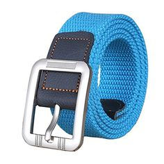 Introducing Christmas Gift Canvas Web Woven Belt with Buckle for Jeans 3949inch. Great Product and follow us to get more updates!
