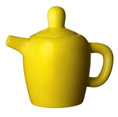 Bulky yellow Teapot from Muuto. Design by Jonas Wagell.