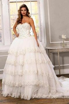9d4c67deaa30 Stunning Strapless Ivory Wedding Ballgown JB91282 Sexy Wedding Dresses,  Designer Wedding Dresses, Bridal Dresses