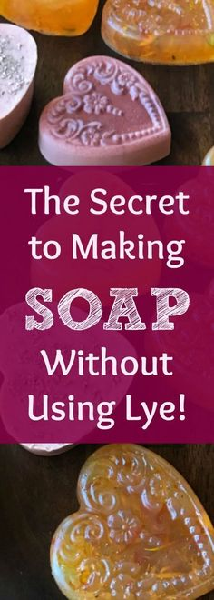 Jul 6 Can You Make Soap Without Using Lye? (Here's a Secret, Easy Way!) Can you make soap without using any lye? The simple answer is: Yes. Find out how you can get around using Lye in your handmade soaps! By the way: Even kids can do this! Diy Savon, Savon Soap, Soap Making Supplies, Homemade Soap Recipes, Homemade Paint, Homemade Cards, Soap Maker, Lotion Bars, Goat Milk Soap