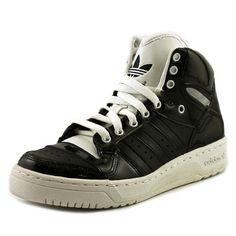 superior quality 41316 a1ea5 Adidas Attitude Logo Heart Women US 10.5 Black Sneakers