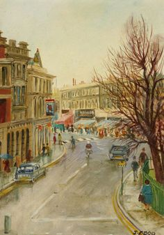 Art UK is the online home for every public collection in the UK. Featuring over oil paintings by some artists. Old London, London Art, Fulham, Art Uk, London Street, Places Of Interest, Urban Landscape, Pictures To Paint, Your Paintings