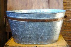 Medium Grapevine Tub: