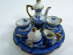 Hey, I found this really awesome Etsy listing at https://www.etsy.com/listing/186189090/miniature-tea-set-doll-tea-set-china-tea